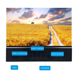 3D Mobile Phone Screen High Definition Video Amplifier Smartphone Support - Gadget Homez