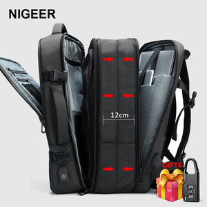 Multifunction USB Charging Expansion Travel Backpack - Gadget Homez