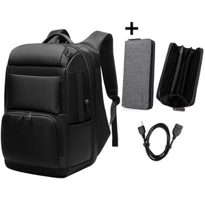 USB interface Shoulders Anti-theft Travel Waterproof Backpack - Gadget Homez