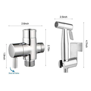 Self Fix Bathroom hand sprayer shower self cleaning - Gadget Homez