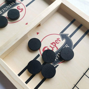 Slingpuck Game Board Funny Party Game - Gadget Homez