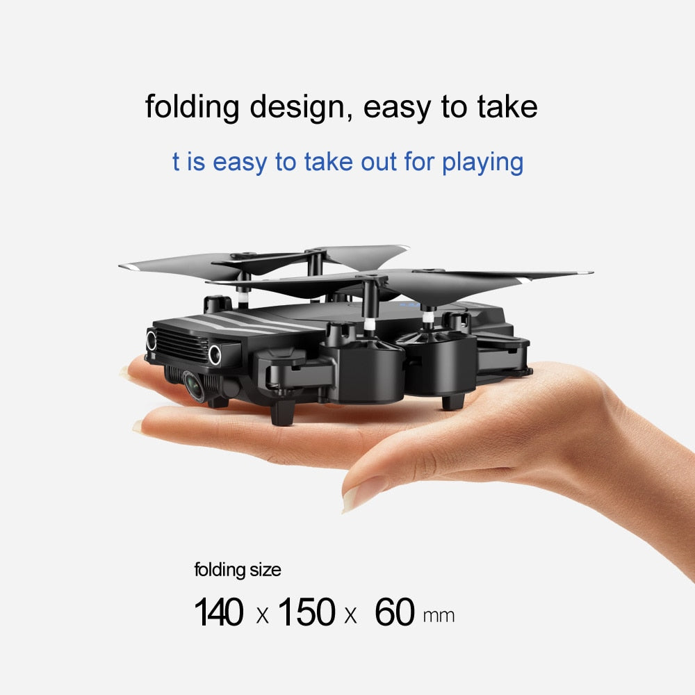 4K Mini Foldable Quadcopter Selfie Drones - Gadget Homez