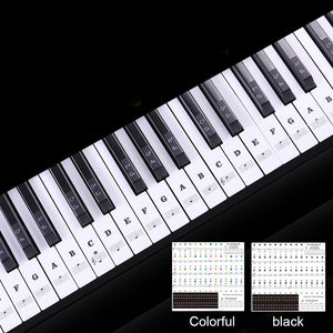 Removable Piano Key Stickers - Gadget Homez