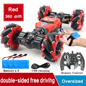 4WD Radio Control Stunt Gesture Induction RC Car - Gadget Homez