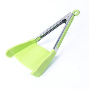 2 in 1 Smart Kitchen Spatula and Tongs - Gadget Homez