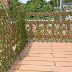 Retractable Expandable Artificial Garden Fence Home Decorations - Gadget Homez