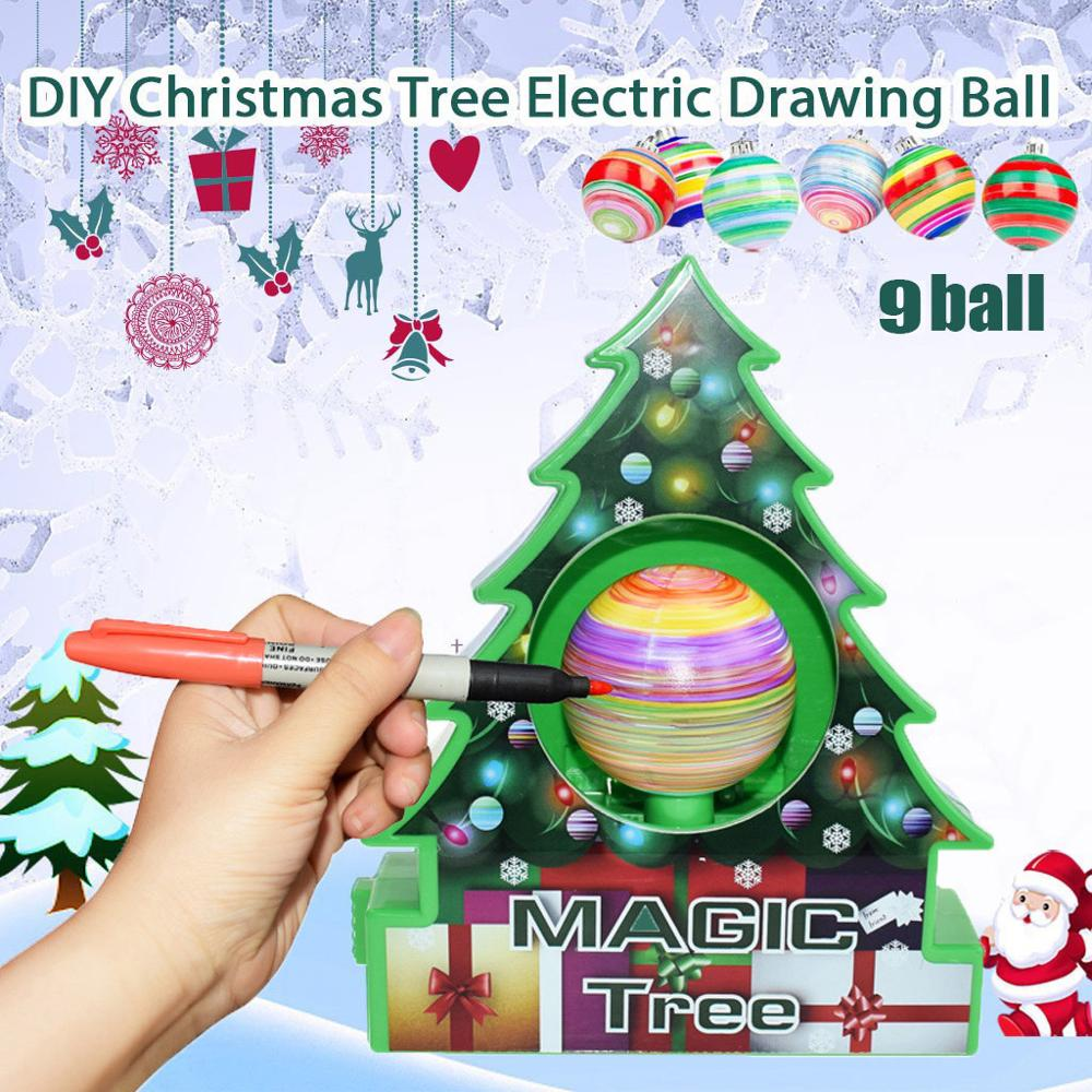 Magic Tree DIY Christmas Machine Christmas Tree Decoration Kit - Gadget Homez