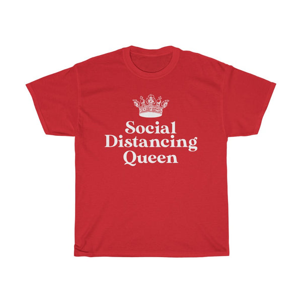 Social Distancing Queen t-shirt - Work From Homers