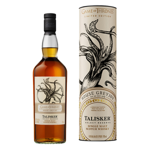 Talisker Game of Thrones House Greyjoy Limited Edition Single Malt Scotch Whisky
