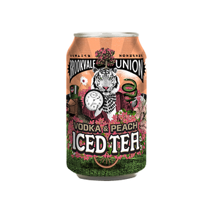 Brookvale Union Vodka & Peach Iced Tea Cans 330mL