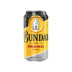 Bundaberg Rum & Cola Cans 375mL