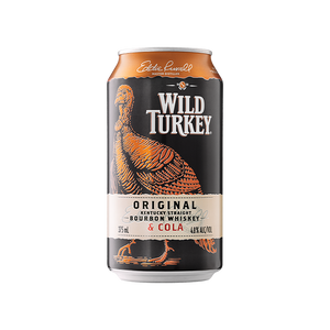 Wild Turkey Bourbon & Cola Cans 375mL
