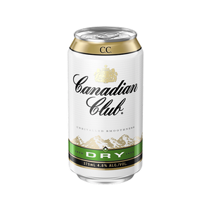 Canadian Club Whisky & Dry Cans 375mL