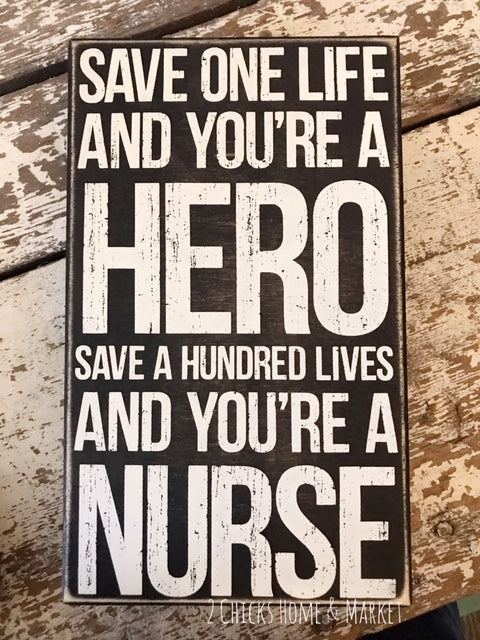 Nurse Box Sign