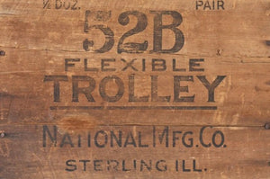 "Wood Crate ""Trolley"""