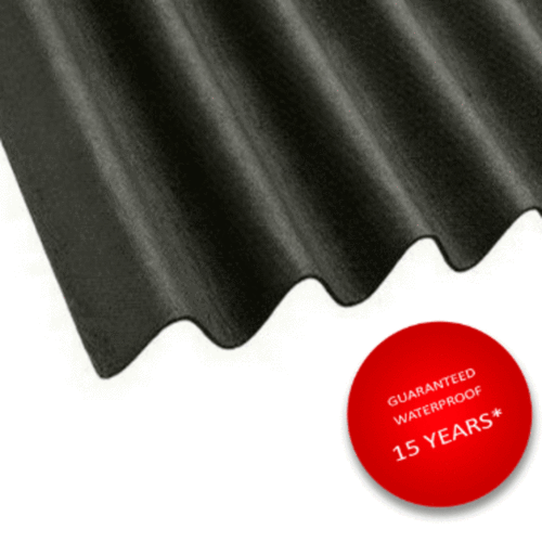 Coroline Bitumen Corrugated Roof Sheets