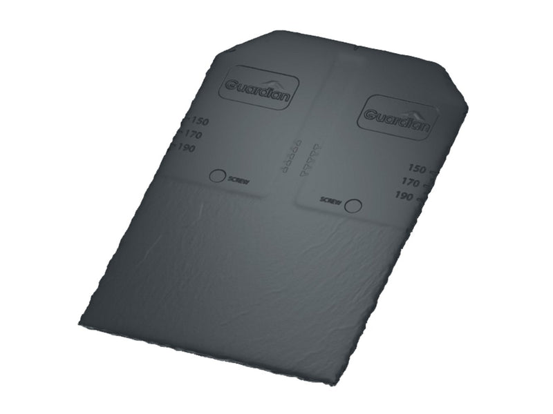 Guardian Synthetic Roof Slate Tile - Grey (Pack of 22)