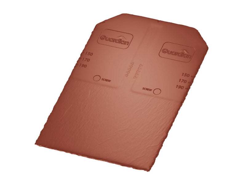 Guardian Synthetic Roof Slate Tile - Terracotta (Pack of 22) - Mammoth Roofing