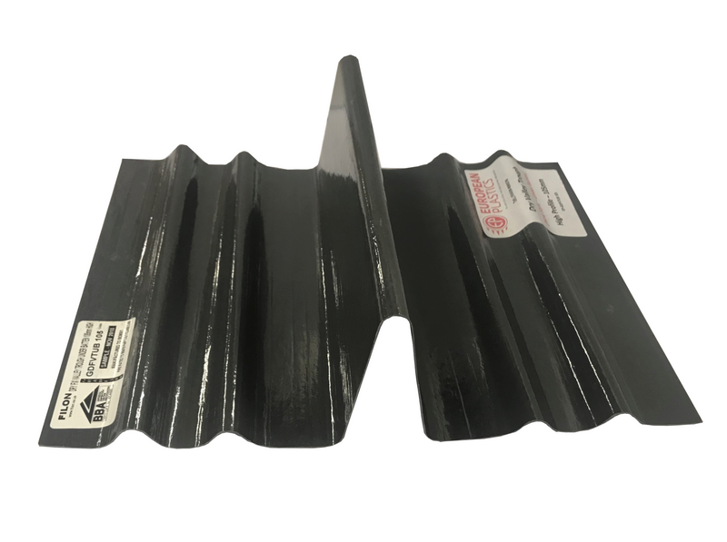 European Plastics High Profile Dry Fix Valley Trough (Under Batten Fix) 3m - Mammoth Roofing