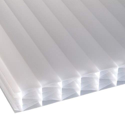 Corotherm Opal 25mm Multiwall/Sevenwall Polycarbonate Roof Sheet