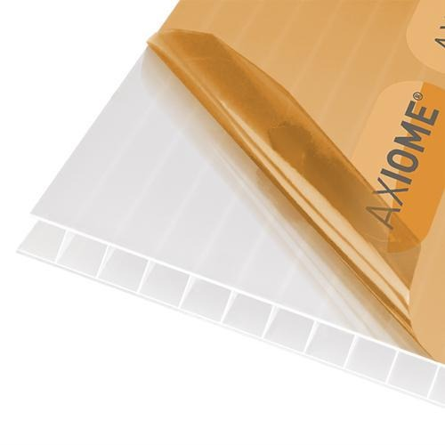 Axiome 10mm Opal Twinwall Polycarbonate Roof Sheets