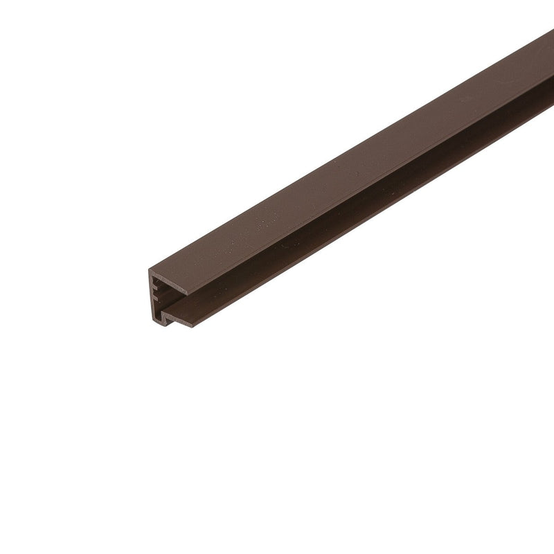 Corotherm 16mm Brown Sheet End Cap 2.1m - Pack of 2