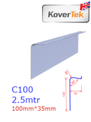 KoverTek C100 Simulated Lead Flashing 2.5m - Mammoth Roofing