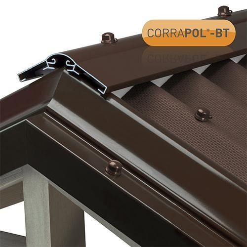 Corrapol-BT Brown Aluminium Super Ridge Bar Set