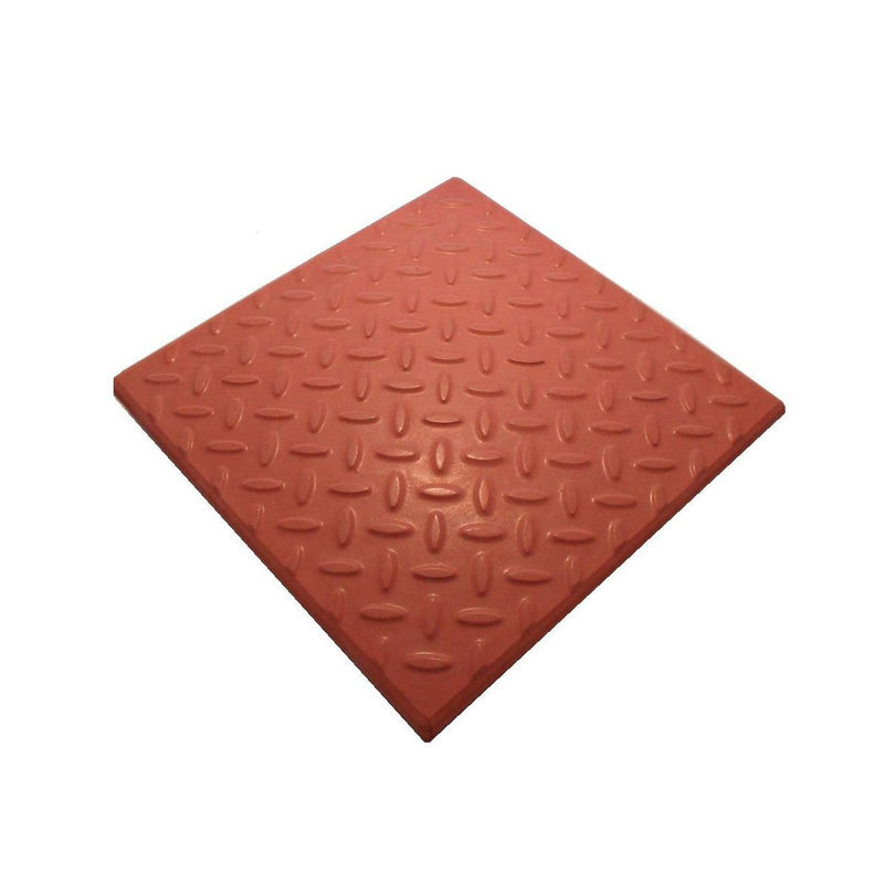 Castile Checkerplate GRC Promenade Tiles - All Colours - Mammoth Roofing