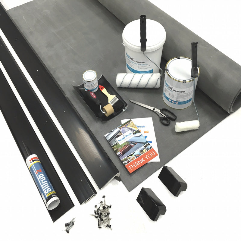 ClassicBond EPDM Rubber Roof Porch Roof Kit