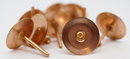Samac Copper Disc Rivets - Bags of 100