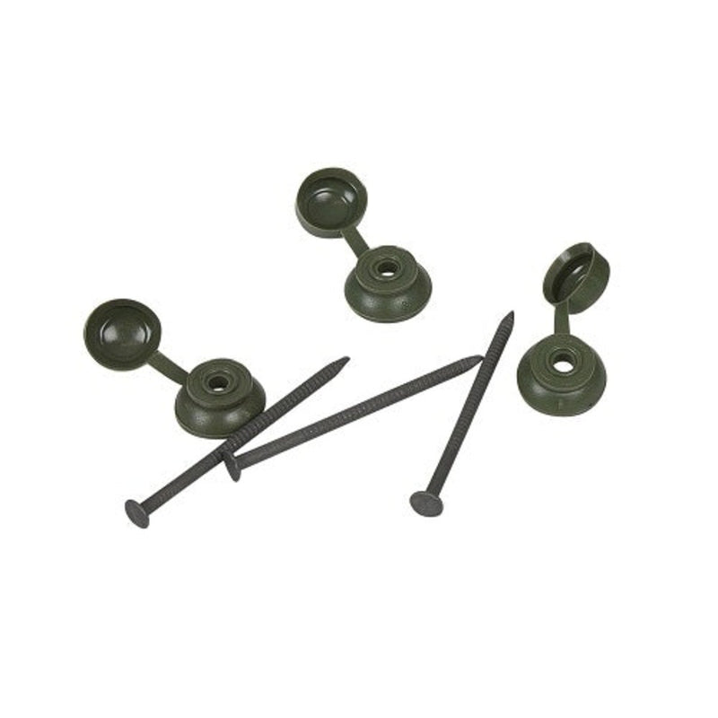 Coroline Green Roof Sheet Fixings - Pack Of 20 - Mammoth Roofing