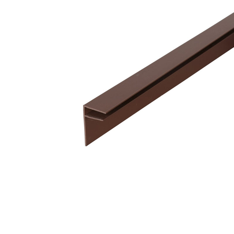 Corotherm 10mm Side Flashing - Brown - Mammoth Roofing