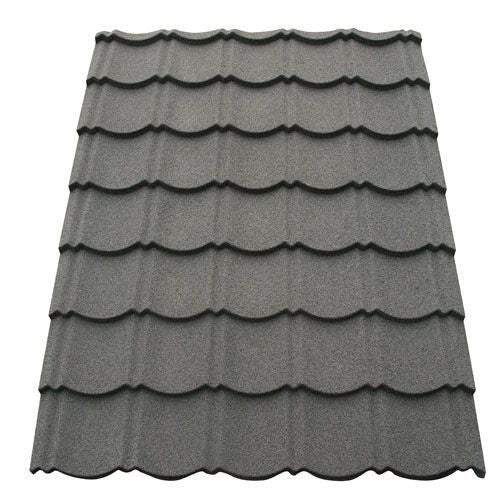 Corotile Lightweight Metal Roofing Sheet - Charcoal 1140mm x 860mm