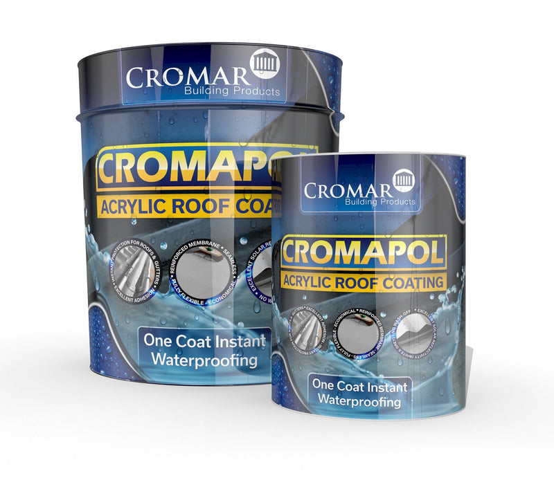Cromapol Acrylic Waterproofing Roof Paint - Grey