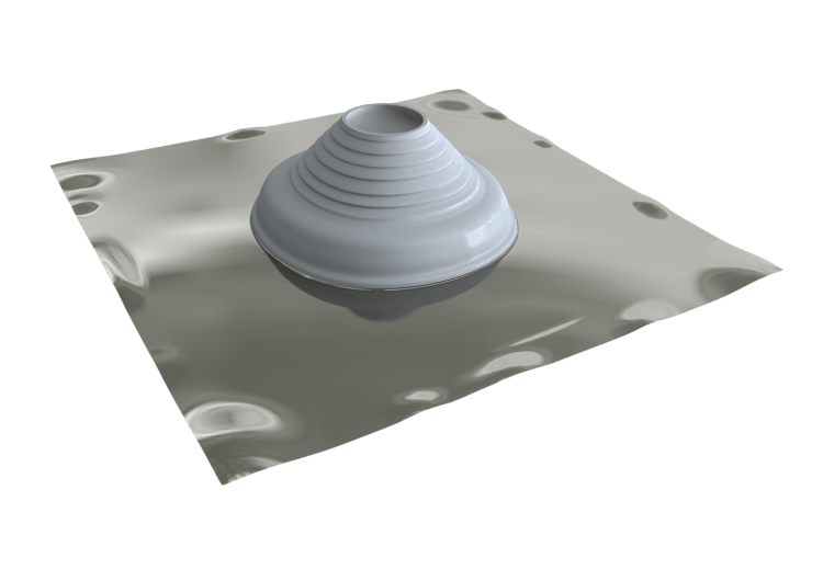 Seldek Aluminium Roof Flashing 150 - 280mm Grey Silicone SDAP203G
