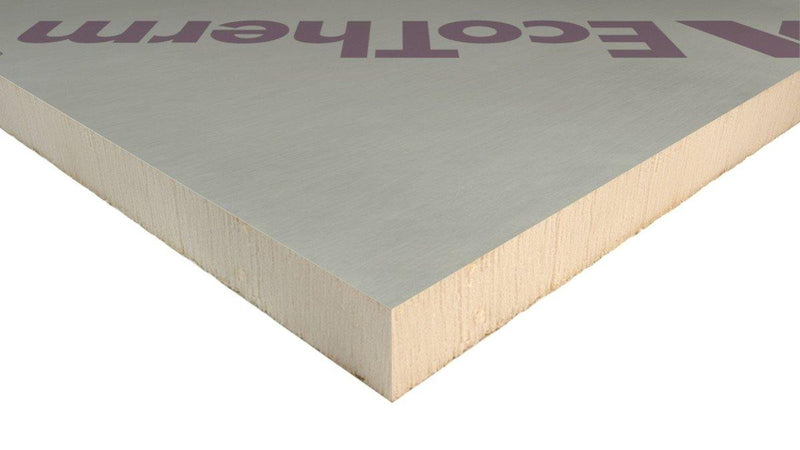 EcoTherm Eco-Versal General Purpose Insulation PIR Board 1.2m x 2.4m x 80mm