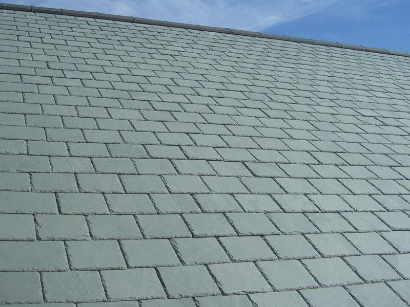 Elterdale Grey Green Natural Roof Slate 500mm x 250mm
