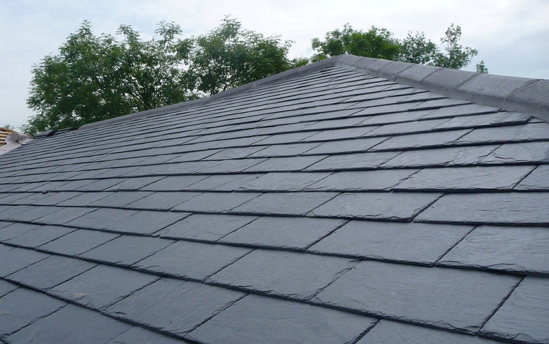 Estillo 15 Premium Blue Grey Natural Roof Slate and Half 500mm x 375mm - Mammoth Roofing