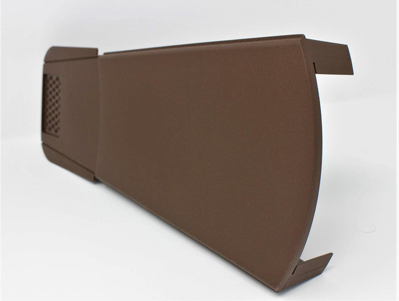 European Plastics Uni-Verge Dry Verge Unit  - Brown - Mammoth Roofing