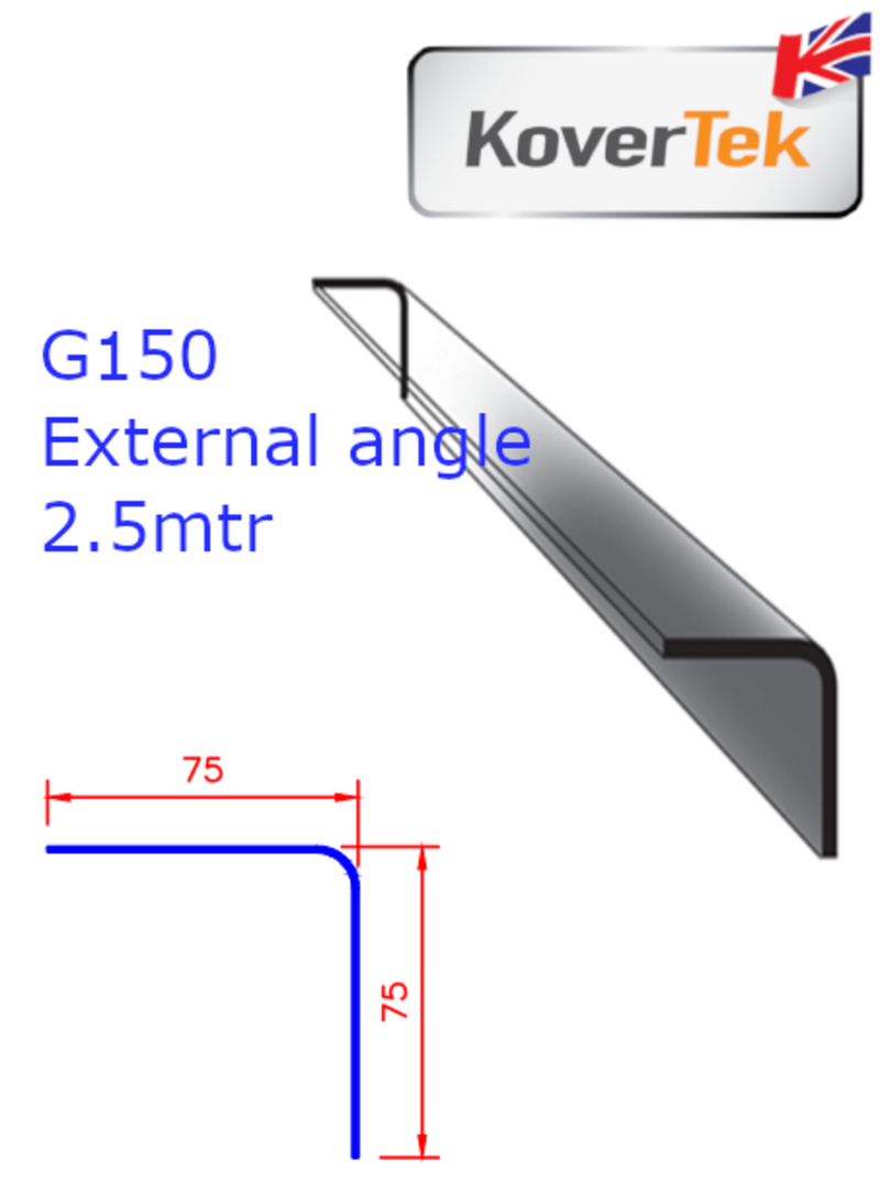 KoverTek G150 90° External Angle 2.5m