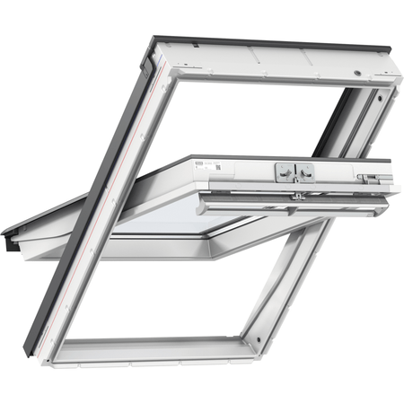GGU - White Polyurethane Centre Pivot Roof Window - Mammoth Roofing