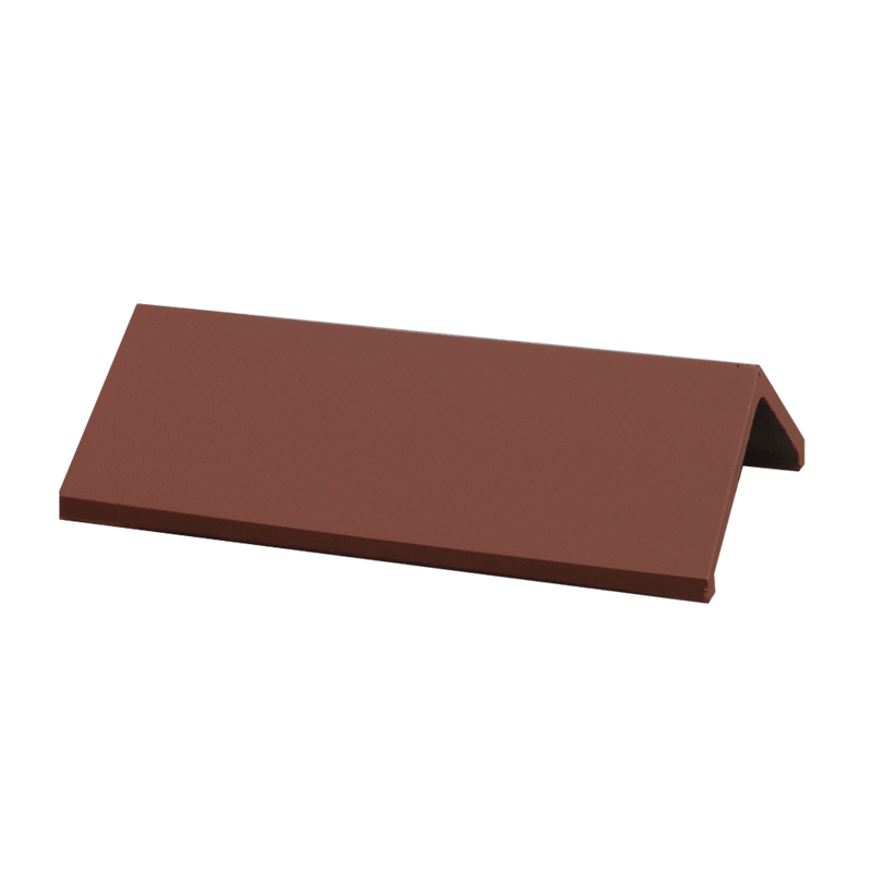 GRC 450mm Plain Angle Ridge - Terracotta - Mammoth Roofing