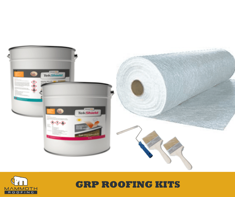 Mammoth Roofing Budget Fibreglass Roofing Kit 10m² - Mammoth Roofing