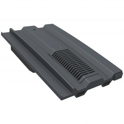 Manthorpe Mini Castellated Roof Tile Vent - Grey