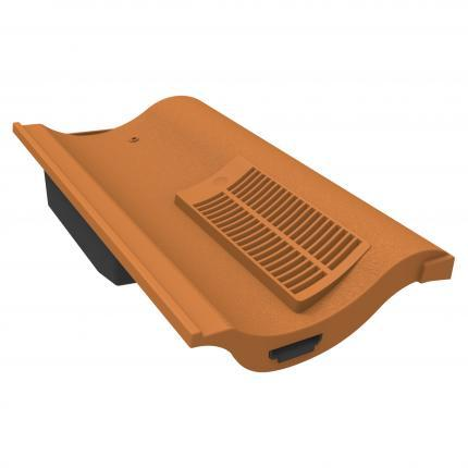 Manthorpe Single Pantile Roof Tile Vent - Terracotta - Mammoth Roofing
