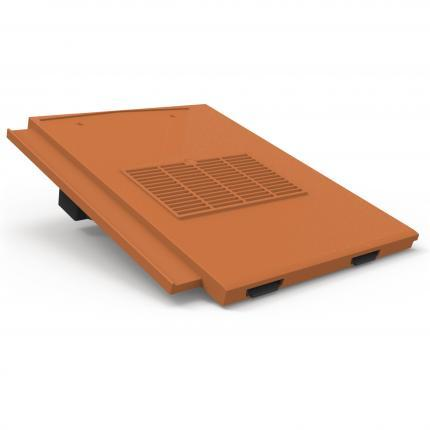 Manthorpe Thin Leading Edge Roof Tile Vent - Terracotta