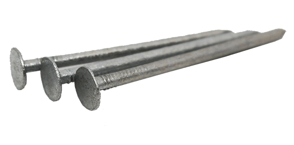 Samac Galvanised Clout Roofing Nails 50mm x 2.65mm - 25kg - Mammoth Roofing