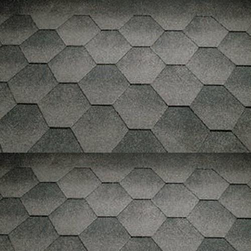 Katepal Super Jazzy Hexagonal Felt Roofing Shingles (3m2) - Grey - Mammoth Roofing