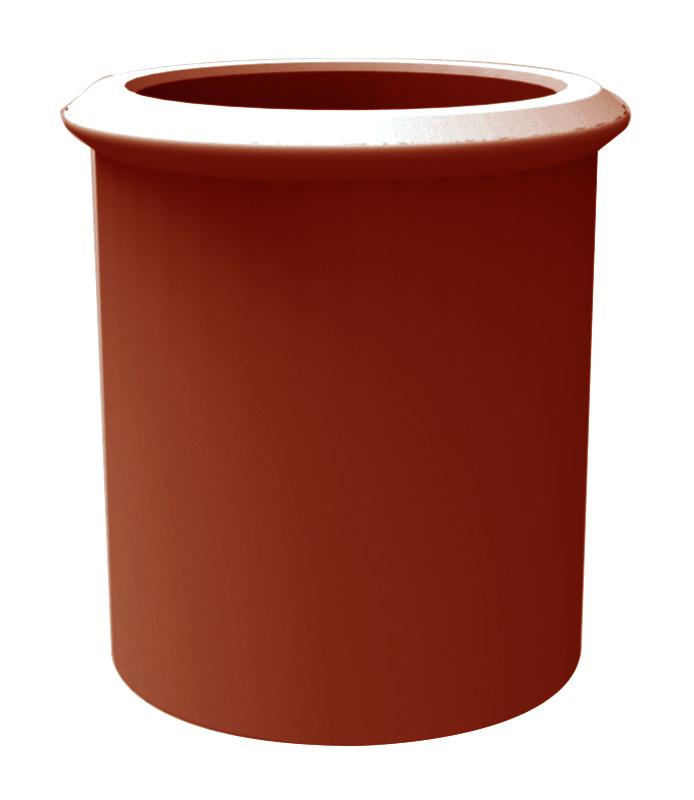 Straight Roll Top Chimney Pot - Mammoth Roofing